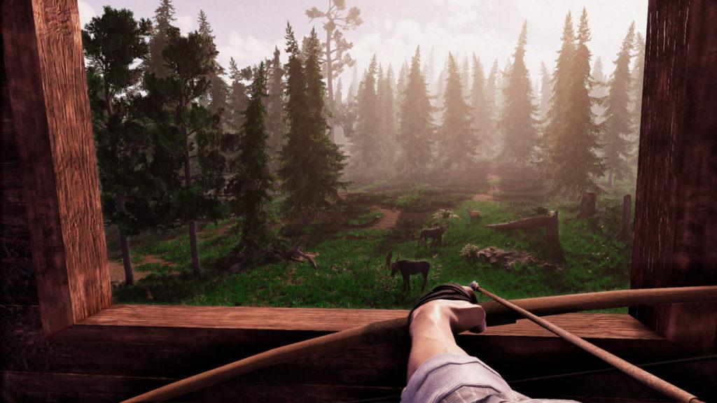 Primitive Hunter Gameplay Screen 1
